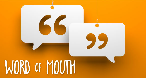 word of mouth graphic